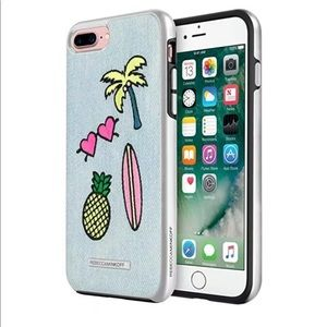 New Rebecca Minkoff Luxe Double Case for iPhone 7+